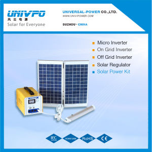 Home Univ-12ds (承認されるセリウム)のための携帯用LED Solar Lighting System