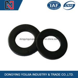 Rondelle plate en acier au carbone pour les boulons et écrous de fixation