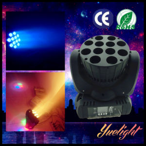 Manufacture専門の12PCS 10W RGBW 4in1のクリー語LED Beam Light Moving Head
