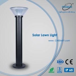 Indicatore luminoso solare esterno solare del giardino dell'indicatore luminoso IP65 del prato inglese di vendita calda con la batteria di litio LiFePO4