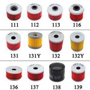 piezas de repuesto de motocicletas de espuma de filtro Filtro de aceite para Honda