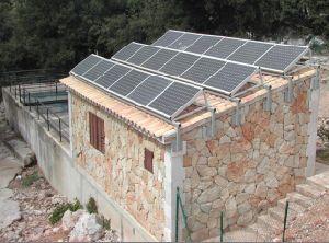 Colgando del techo sistema de Energía Solar