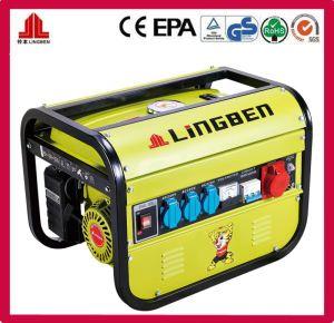 2kw 5.5HP generador de gasolina de tres fases (LB2600DXE-D3).