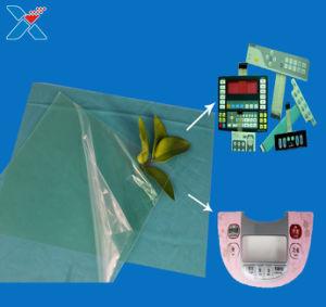 De Film van de Druk van het polycarbonaat inkt diffuus Transparant van de Film van PC Adjustability PC- Blad voor Druk PC811-250