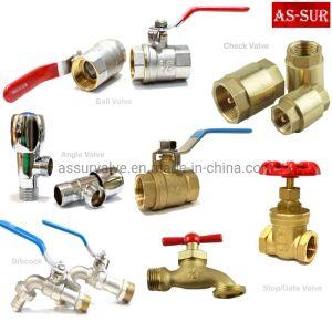 Control de Seguridad reductora de presión de gas del radiador Válvula de bola de latón