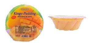 L'emballage en plastique jetables de thermoformage sous vide des conteneurs de gelée de fruits tasse