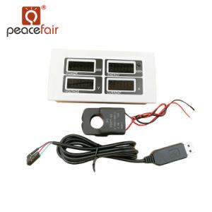 Il CA 80-260V 100A TTL di monofase Pzem-004 comunica il tester di potere elettrico del LED KWH