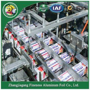2018 finura a mediados de la velocidad de cuadro de aluminio Envases de cartón máquina