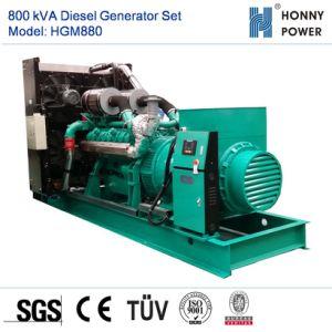 800kVA Googol 엔진 50Hz를 가진 디젤 엔진 발전기 세트