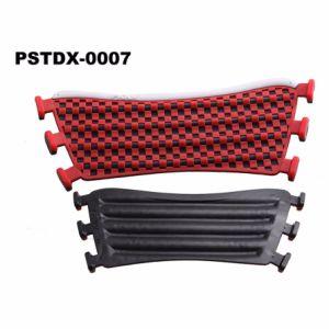 Черный с красной шкалой верхней зерноочистки из ПВХ для 6 отверстия тапочки