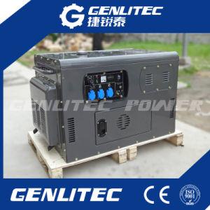 10квт с водяным охлаждением воздуха 2 Цилиндр Super Silent портативный дизельный генератор