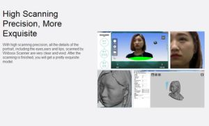스캐닝 초상화 3D 스캐너를 두는 최신 판매 최고 질