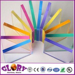 Hoge Glanzend en Transparantie 3mm Gegoten AcrylBlad voor Reclame