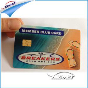 Новые белые пустые ПВХ Sle4428 обратитесь в IC смарт-карт