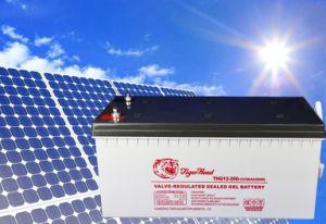 12V 200Ah batterie VRLA scellés de gel pour la génération d'alimentation