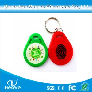 주문 형식 승진 선물 RFID NFC PVC 중요한 꼬리표 Keychain