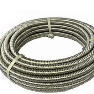 De duurzame Flexibele Slang van het Flexibele Metaal van het Roestvrij staal met Flens