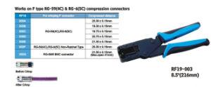 De werken aangaande de Schakelaars van de Compressie van het Type van F Rg59 RG6