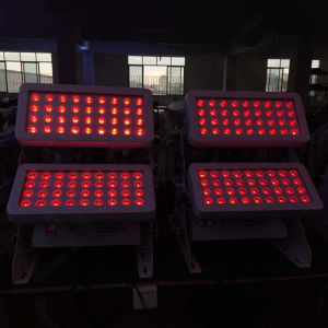 72pcs RGBW DMX escenario al aire libre LED de color de la ciudad de 10W