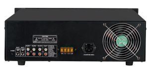 6 zonas de tensión de 3U amplificador del sistema de megafonía