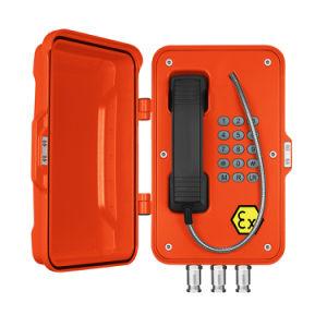 À prova de explosão Telefone, Zona 1 carvão Minas Oil&Gas usado, certificadas Iecex Vender Jr-Ex quente-01