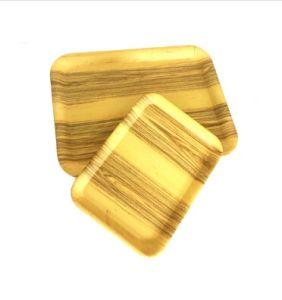 Hot vendre imprimé avec la plaque de fibre de bambou écologique (YK-P4030)