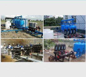 Sistema industrial do filtro de media da areia do filtro de água