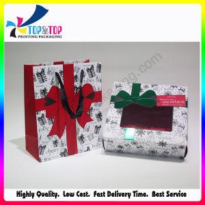 재생한 물자 특징은 주문 순서 포장 판지 선물 상자를 받아들인다