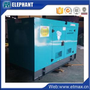gruppo elettrogeno diesel di potere silenzioso di 80kw 100kVA
