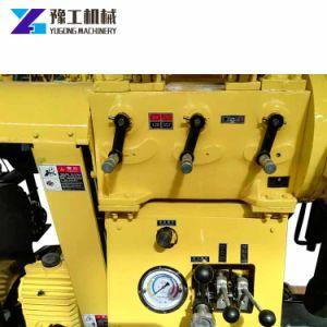 La Chine fabricant fiable de remorque hydrauliques montés sur de petits systèmes portables et de l'eau forage rotatif appareil de forage de base des prix des machines de forage