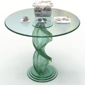 Parte superior da mesa de jantar de vidro de Mobiliário de Jardim