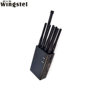 Multi Band 8 antennes WiFi GPS portable 3g 4g 5g cellule GSM RF à distance de voiture Bluetooth Lojack signal de téléphone mobile le brouilleur/Blocker