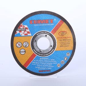 4.5 vlak Scherp Wiel '' voor Metaal en (115X1.2X22.2) Schuurmiddel Inox met MPa Certificaten En12413
