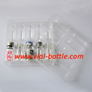 Suporte de plástico da bandeja de plástico para 10 unidades 2ml Vial