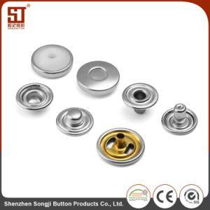 卸し売り金属のMonocolorの円形の個々の金属のスナップボタン