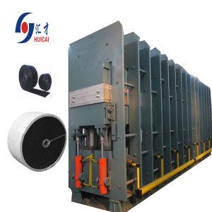컨베이어 벨트 고무 기계 유압 압박