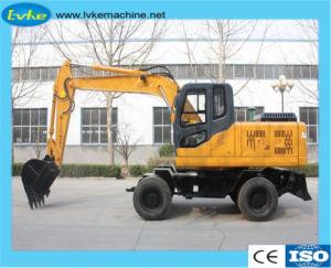 Het Merk Hblk 135 van China de ModelGraver van het Wiel van het Graafwerktuig van de Machines van de Bouw Hydraulische