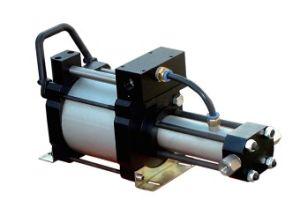 Пневматическим приводом кислородного газовых бустерных
