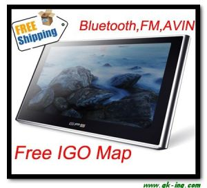 5Carro GPS com FM, AVIN, Bluetooth