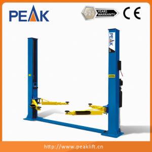 La placa base hidráulica de 2 postes elevador de coche (209X)