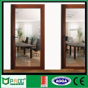 Portello di vetro di alluminio superiore e portello Pnoccd0040 della stoffa per tendine