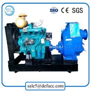 Motor diesel de alta elevação de sucção da bomba de água de esgoto