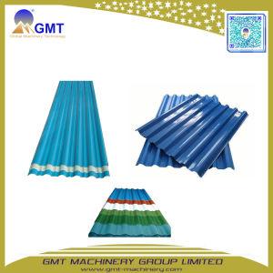 Seule+PVC multicouche+PP+Pet panneau de toit de tuiles de feuille d'onde ligne extrusion de plastique
