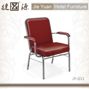 装飾されてスタックする肘掛け椅子教会椅子(JY-G11)を