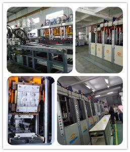 수직 두 배 색깔 TPU/TPR 주입 주조 기계