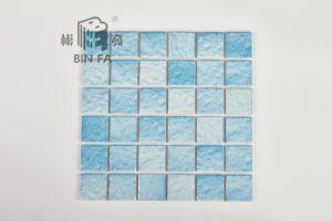 Mattonelle di mosaico di ceramica di onda di mm della