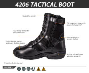 Novo design durável Botas de combate de alta qualidade