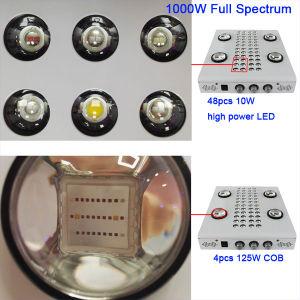 1000W luz crescer LED Full Spectrum para plantas de interior e Veg Flower