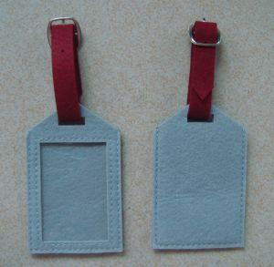 Fieltro de lana de la moda Hotel Ticket de viaje etiqueta titular