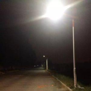 LEIDENE van de Lichten 10m van Baode 90W ZonneStraatlantaarn met Soncap